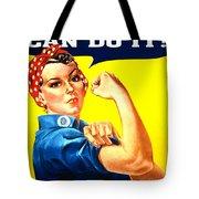 Sharon Rosie The Riviter Tote Bag