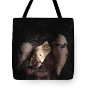 Shattered Into Pieces Tote Bag