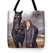 She Chose Me For Her Horse Tote Bag