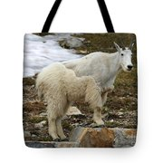 Shedding Mountain Goat Tote Bag
