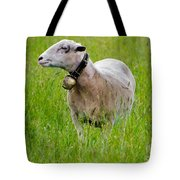 Sheep With A Bell Tote Bag