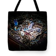 Shelby G.t. 500 Engine Tote Bag