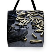 Shell Casings From A .50 Caliber Tote Bag