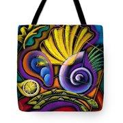 Shellfish Tote Bag by Leon Zernitsky