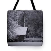 Shelter From The Cold Tote Bag