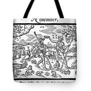 Shepherd, 1597 Tote Bag