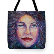She's Come Undone Tote Bag by Shannon Grissom