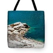 Shimmering Azure Water I Tote Bag