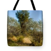 Shimmering Leaves Tote Bag