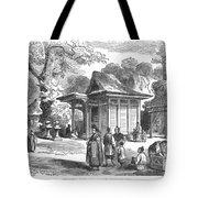 Shinto Shrine, 19th Century Tote Bag