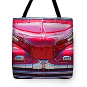 Shiny Red Ford Convertible. Tote Bag