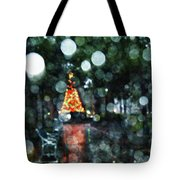 Shiny Tree In Bienville Square Tote Bag