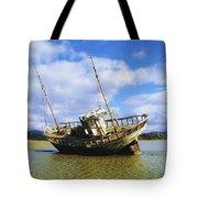 Shipwrecks, Bunbeg, Co Donegal Tote Bag