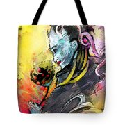 Shiva Diva Tote Bag