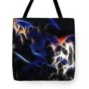 Shocking Petunias Tote Bag