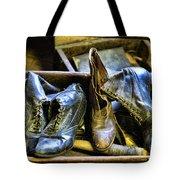 Shoe - Vintage Ladies Boots Tote Bag