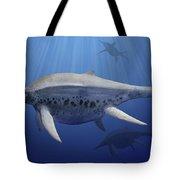 Shonisaurus Popularis Swimming Tote Bag