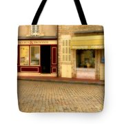 Shops In Beaune France Tote Bag