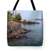 Shore Of Isle Royale Tote Bag