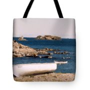 Shoreline Boat Tote Bag