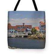 Shoreline Village Tote Bag