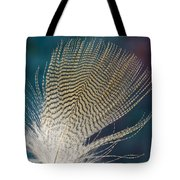 Wood Duck Feather Tote Bag