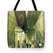 Shrine Of The Holy Sepulchre April 10th 1839 Tote Bag