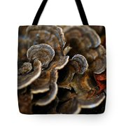 Shrooms Abstracted Tote Bag