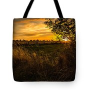 Shropshire Fields In Late Summer Tote Bag