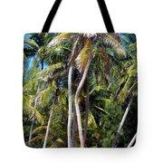 Shy Palms Tote Bag