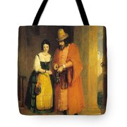 Shylock And Jessica From 'the Merchant Of Venice' Tote Bag