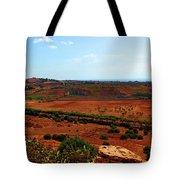 Sicilian Landscape Tote Bag
