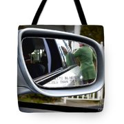 Side View Mirror Tote Bag