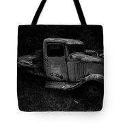Side View Of A Classic Tote Bag