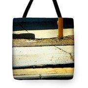 Sidewalk Abstract Tote Bag