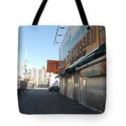 Sidewalks Of Gum Tote Bag