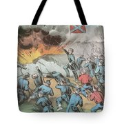 Siege And Capture Of Vicksburg, 1863 Tote Bag by Photo Researchers
