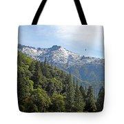 Sierra First Snow Tote Bag