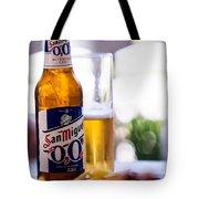 Siesta Time I. Beer Sun Miguel Tote Bag