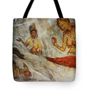 Sigiriya Fresco. Sri Lanka Tote Bag