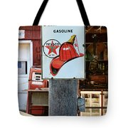 Sign - Fire Chief Gasoline Tote Bag