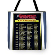 Sign Of Champions Tote Bag