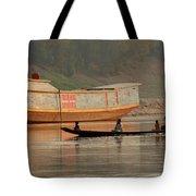 Silence On The Mekong Tote Bag