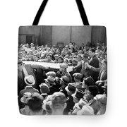 Silent Film: Crowds Tote Bag