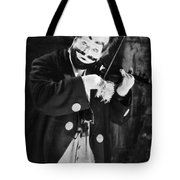 Silent Film Still: Clown Tote Bag