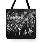 Silent Film Still: Crowds Tote Bag