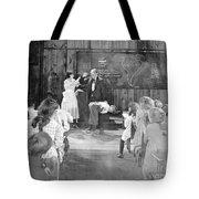 Silent Film Still: School Tote Bag by Granger