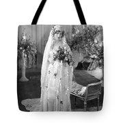 Silent Film: Wedding Tote Bag