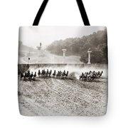 Silent Still: Chariot Tote Bag