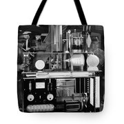 Silent Still: Laboratories Tote Bag